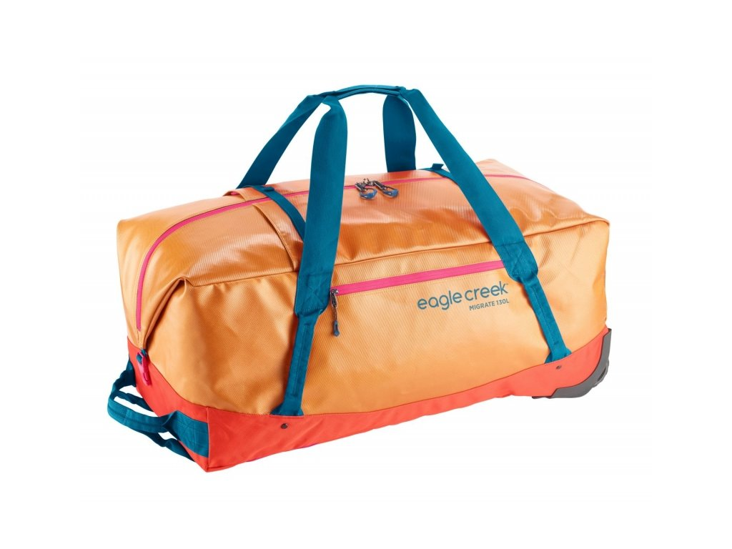 Eagle Creek Migrate Wheeled Duffel 130l sahara yellow