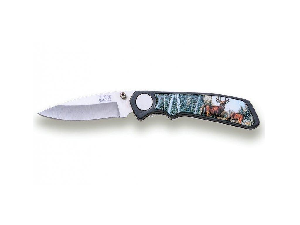 Joker nůž s motivem jelenů 65 mm