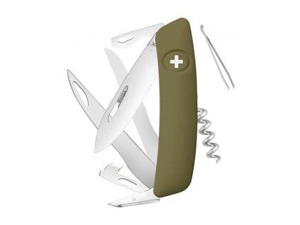 Swiza kapesní nůž D07 Standard olive