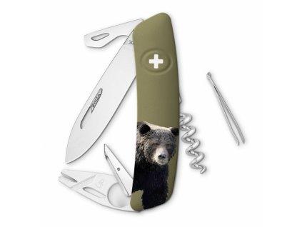 Swiza švýcarský kapesní nůž TT03 Bear Wildlife