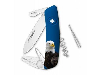 Swiza švýcarský kapesní nůž TT03 Eagle Wildlife