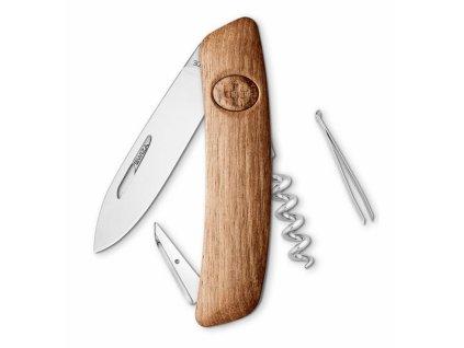 Swiza švýcarský kapesní nůž D01 Wood Walnut