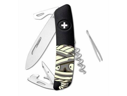 Swiza kapesní nůž D03 Halloween Mummy black