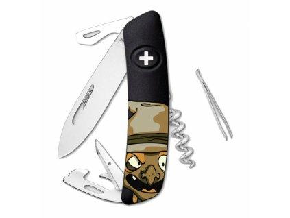 Swiza kapesní nůž D03 Halloween Witch black
