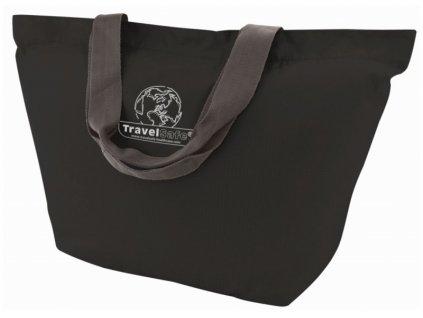 TravelSafe skládací taška Foldable Shoptasche black
