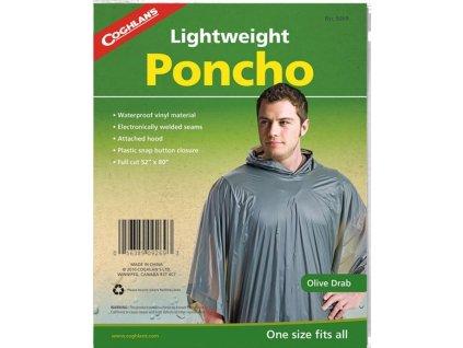 Coghlan´s pončo olivové Lightweight Poncho