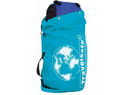 TravelSafe obal na zavazadla Flight Container azure