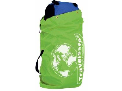 TravelSafe obal na zavazadla Flight Container fluor green