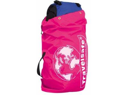 TravelSafe obal na zavazadla Flight Container pink
