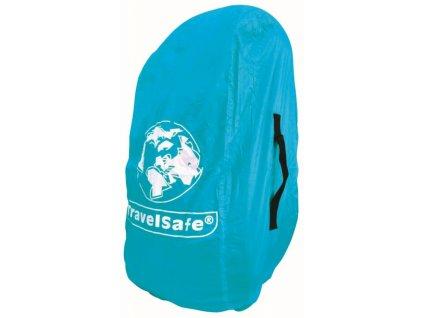 TravelSafe pláštěnka přes batoh Combipack M azure