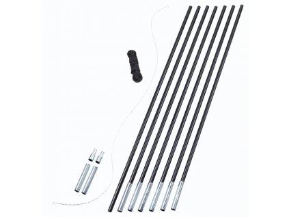 Easy Camp stanové pruty Pole DIY 7 ks/12,5 mm