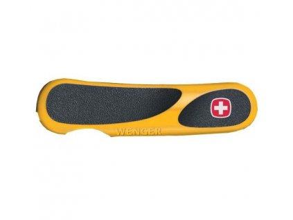 Wenger EvoGrip Yellow 85mm náhradní střenka přední