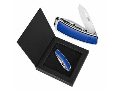Swiza luxusní kapesní nůž D03 Leather blue