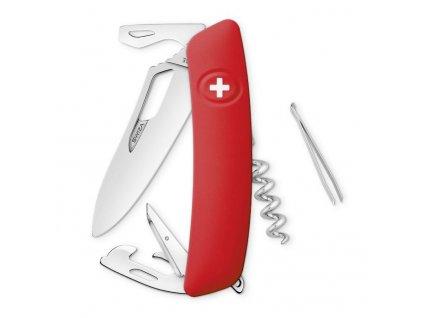 Swiza kapesní nůž SH03R Single Hand red