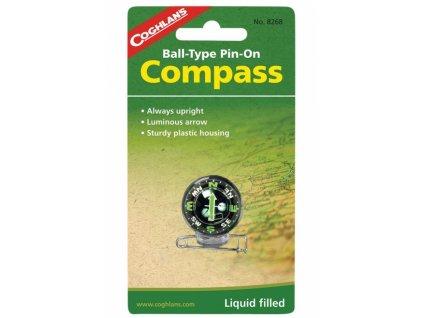 Coghlan´s kuličkový kompas Pin-On Compass