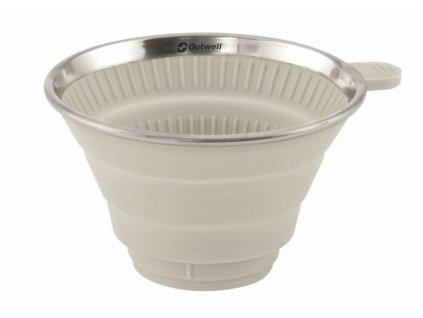 Outwell skládací držák na filtr Coffee Holder cream white