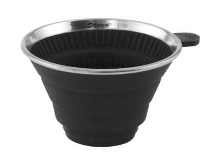Outwell skládací držák na filtr Coffee Holder midnight black
