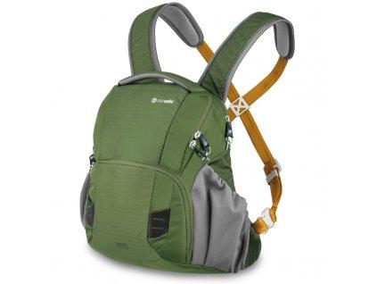 Pacsafe Camsafe V11 olive khaki fotografický batoh - vzorek
