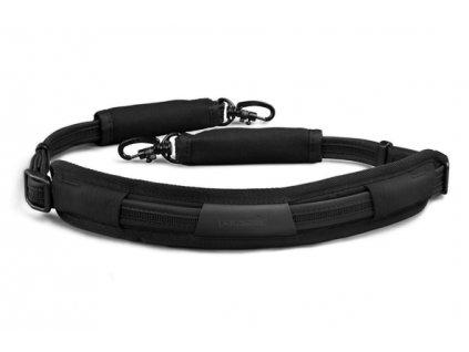Pacsafe Carrysafe 100 black bezpečnostní popruh - výprodej