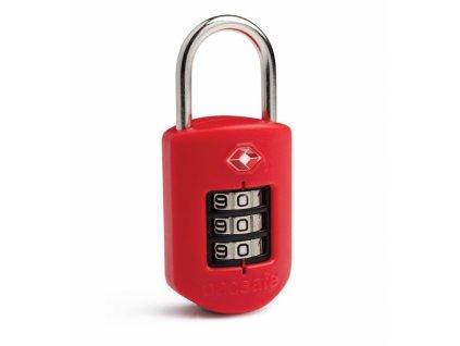 Pacsafe Prosafe 1000 kombinační zámek TSA red - výprodej