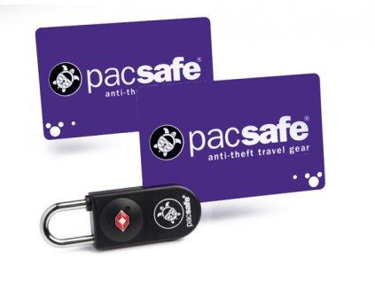 Pacsafe Prosafe 750 TSA zámek s kartou - vzorek