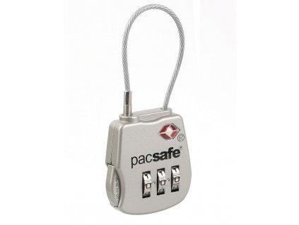Pacsafe Prosafe 800 silver kombinační zámek TSA