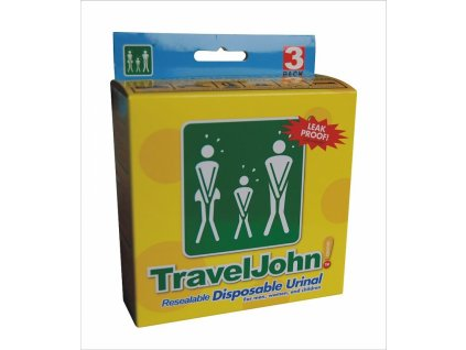 TravelJohn nouzové WC 3 ks