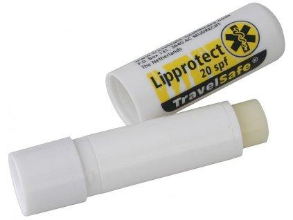 TravelSafe balzám na rty Lipprotect faktor 20