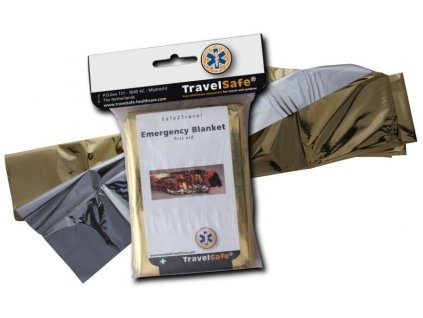 TravelSafe nouzová termofólie Emergency Blanket