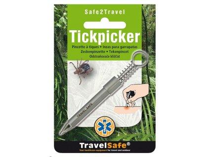 TravelSafe odstraňovač klíšťat Tickpicker