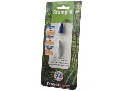 TravelSafe razítko na hmyzí sliny Stamp It
