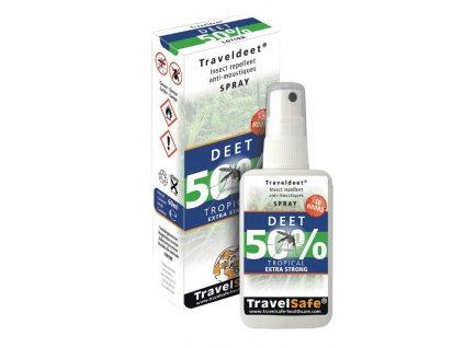 TravelSafe repelent Traveldeet 50% sprej