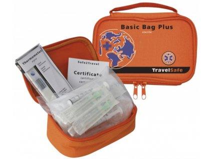 TravelSafe rozšířená lékárna Basic Bag Plus Sterile
