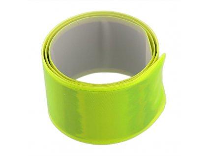 Acron reflexní samonavíjecí páska žlutá