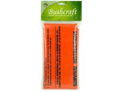 BCB Adventure nouzový vak s potiskem Bag Survival Orange