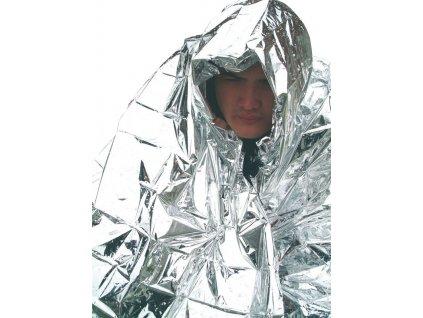 BCB Adventure termofólie Hypothermia Blanket stříbrná