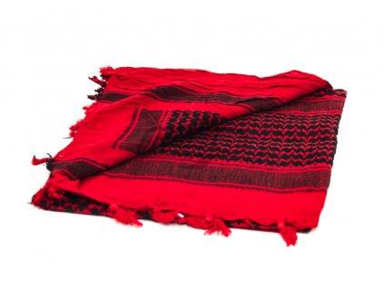 BCB Adventure univerzální šátek Shemag červený