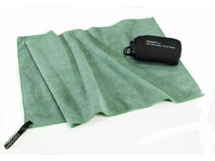 Cocoon lehký cestovní ručník S bamboo green