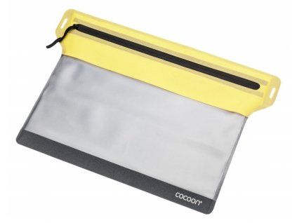 Cocoon pouzdro Zippered Flat Document Bag S yellow
