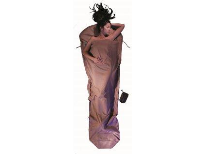 Cocoon spacáková přikrývka mumie khaki