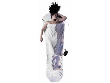 Cocoon spacáková přikrývka mumie natural silk