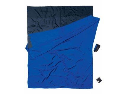 Cocoon spacáková přikrývka pro dva tuareg/ultramarine blue