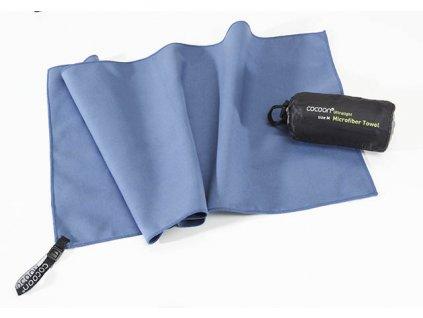 Cocoon ultralehký ručník S fjord blue