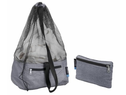 Cocoon vak Laundry Bag Traveler heather grey