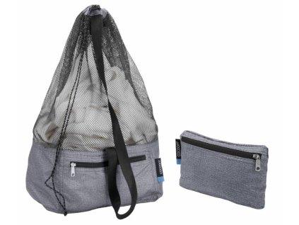 Cocoon vak Laundry Bag Traveler heather grey