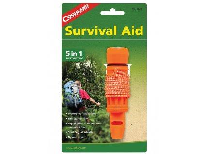 Coghlan´s nouzová sada Survival Aid 5 v 1