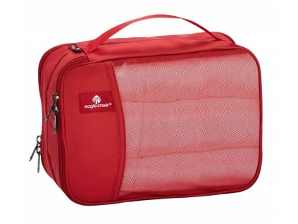 Eagle Creek organizér Pack-It Clean Dirty Half Cube red fire