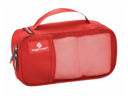Eagle Creek organizér Pack-It Quarter Cube red fire