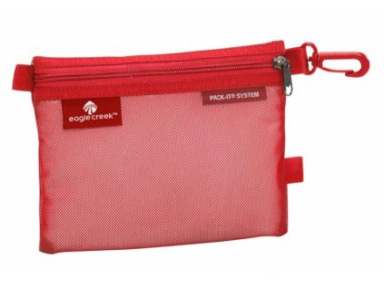 Eagle Creek organizér Pack-It Sac Small red fire