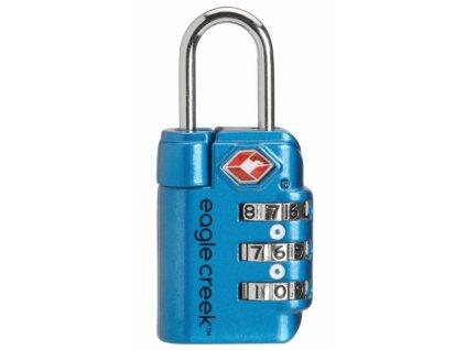 Eagle Creek zámek Travel Safe TSA Lock brilliant blue